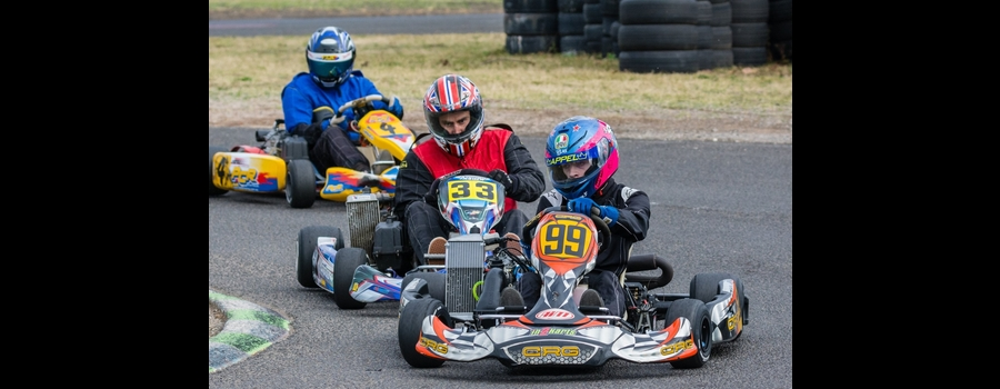 Racing At A Competitive level